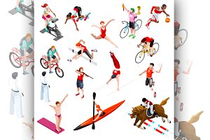 Sport Isometric Olympic Set