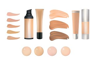 make up foundation palette
