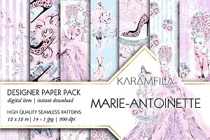Marie-Antoinette Patterns