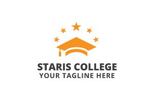 Staris College Logo Template