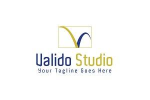 Valido Studio Logo Template