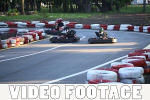Amateur racing karting