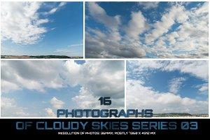Cloudy Skies Series 03