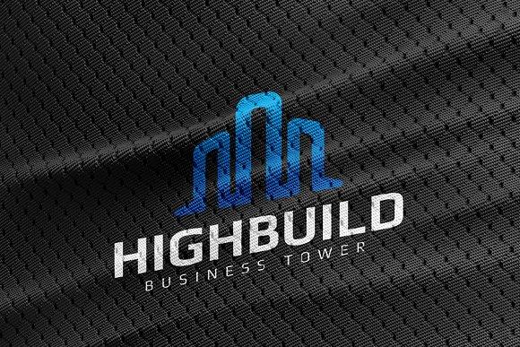 High Build Logo Template