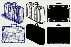 Suitcase Travel SVG