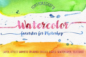 30% off FFC's Watercolor Favorites
