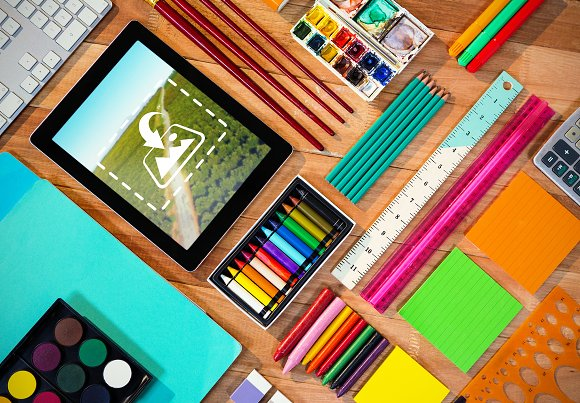 Digital tablet with stationery