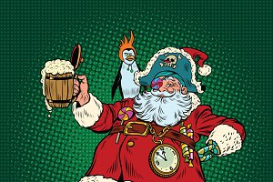 Santa Claus St. Patricks day