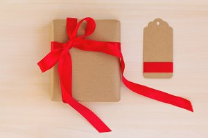 Gift and tag