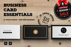 The Essential Business Card Bundle