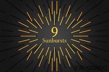 Sunburst Vector Rays