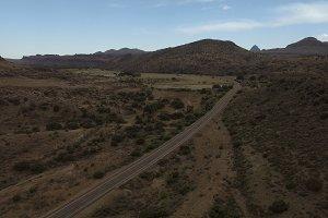 Desert Aerial 4K Scene 2