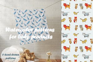 6 patterns for baby products