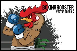 Boxing Rooster