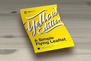 Simple Leaflet/Flyer Mockup