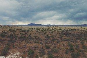 Desert Aerial 4K Scene 3