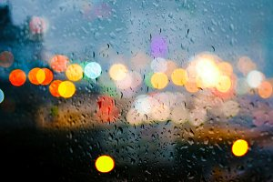 Bokeh In The Rain I