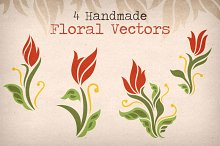 Floral Vector Pack 2