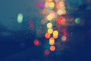 Bokeh In The Rain II