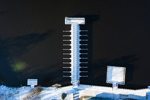 The winter pier