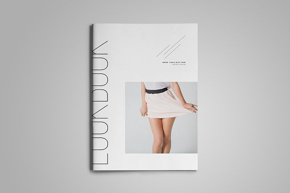 Fashion Lookbook Cover : Lookbook fashion template indd free download designtube