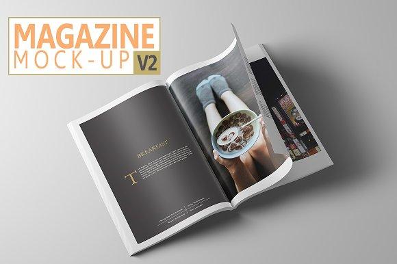 Free Magazine Mock-Up V2