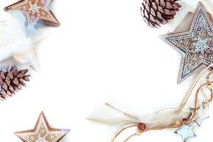 Rustic christmas background II
