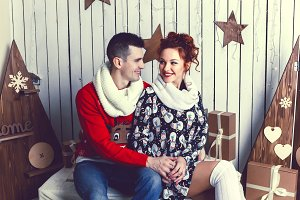 Christmas Gift couple