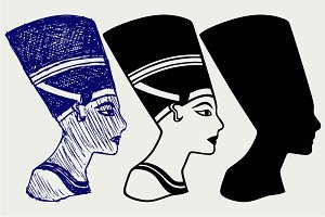 Nefertiti SVG