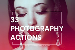 Set 1. 33 Photography Actions