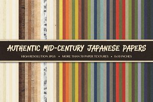 50+ Mid-Century Japanese Papers