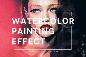 Watercolour Painting Effect V.3