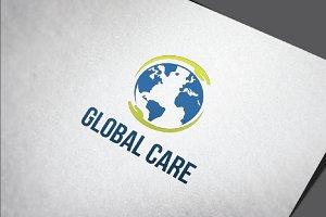 2 Globe Global Earth Care Logo