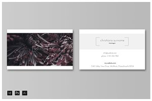 SANTHE Business Card Template