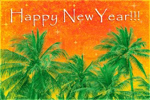 Happy New Year Design Background