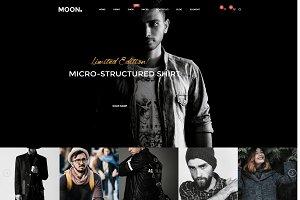 Moon Store -responsive Shopify theme