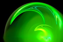 Saint Patrick abstract green background