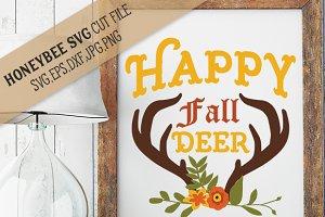 Happy Fall Deer Bouquet