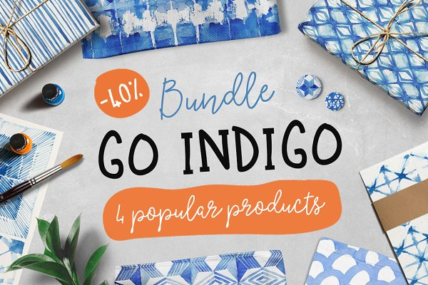 40% off • Go INDIGO bundle