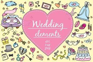 Big set- Wedding elements