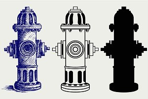 Fire Hydrant SVG