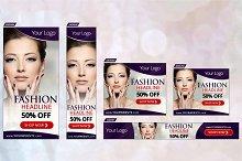 Fashion Banner Set (17 Sizes)