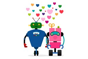 Robot love story