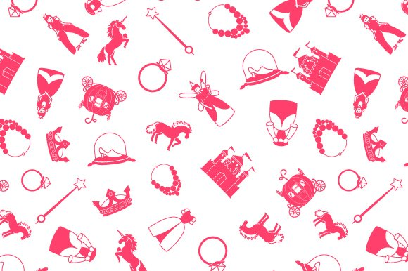 Princess And Fairy Tale Pattern