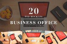 20 PSD Mockups Business Office