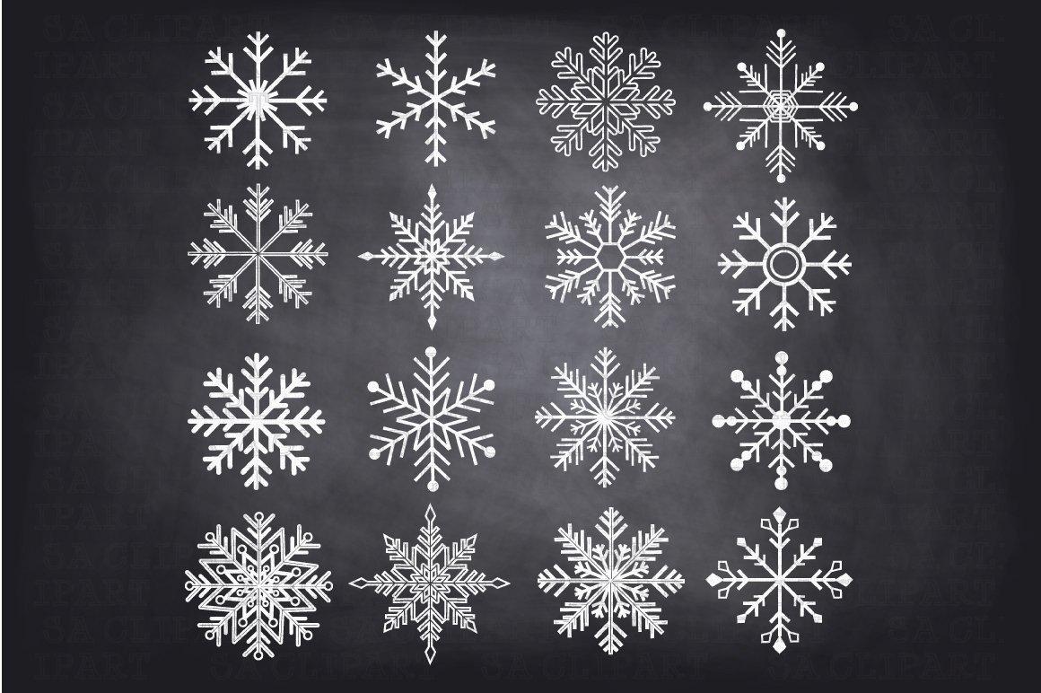 chalkboard snowflake photos graphics fonts themes templates
