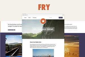 Fry – Responsive TUMBLR Theme