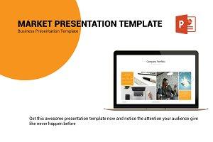 Market Presentation Template