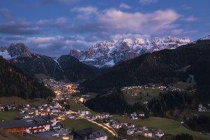 Evening Selva di Val Gardena TIF
