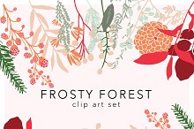 Frosty Forest Graphic Pack